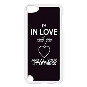 Custom Case for iPod Touch 5 with Personalized Design One Direction Quotes