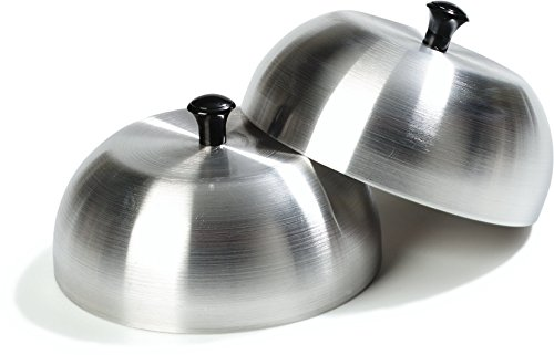 Carlisle 60103 Aluminum Burger Cover Cheese Melting Dome