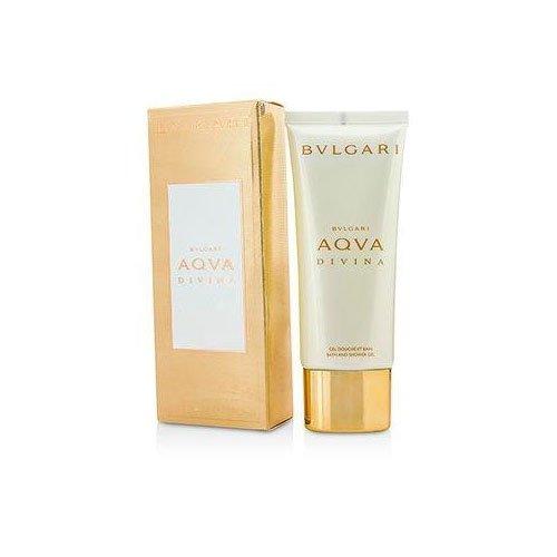 Bvlgari Aqva Divina Bath & Shower Gel for Women, 3.4 Fluid O