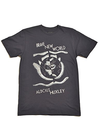 Brand New T-shirts - Out of Print Men's Brave New World T-Shirt Medium Navy
