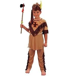Disfraz de indio apache niño