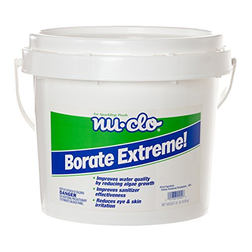 Nu-Clo Borate Extreme 10 LB Reduces Algae Growth in Swimming Pools ()