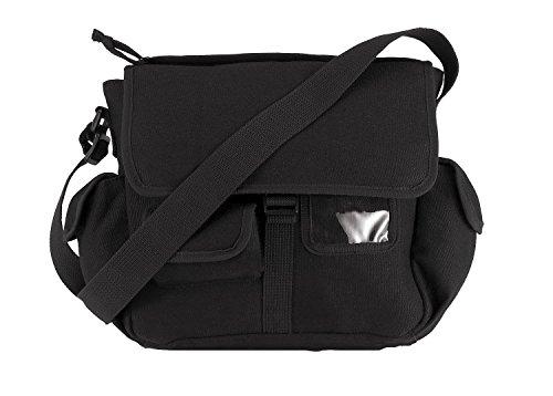 (Rothco Canvas Urban Explorer Bag, Black)