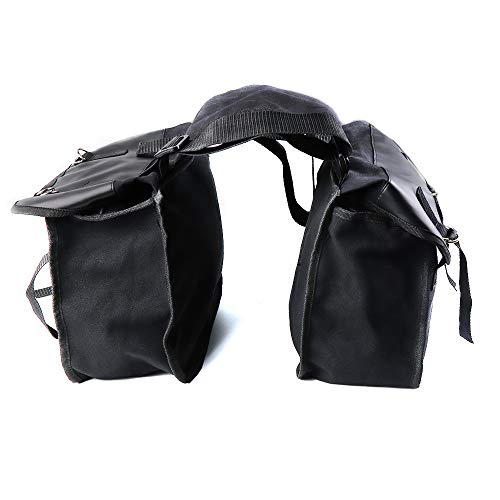 Saddle Bag for Motorcycle Panniers Bags for Bicycle Bike, 17L Large Capacity Saddlebags Tool Bag for Scooter Honda Suzuki Yamaha HD Street Sportster Softails Touring Dyna - Street Bike Saddlebag