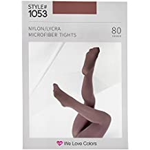 Microfiber Footed Tights - We Love Colors