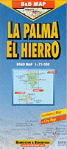 B & B Map, La Palma / El Hierro (B&B maps)