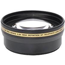 Xit XT2X58 58mm 2.2X Telephoto Lens, Black