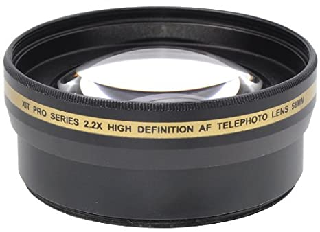 Amazoncom Xit Xt2x58 58mm 22x Telephoto Lens Black Camera