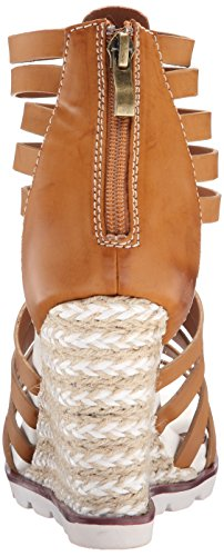 Too Wedge Women Too Lips Luggage Sandal 2 Humble 65OXqwxx