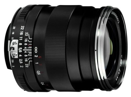 Zeiss Wide Angle 28mm F/2 Distagon T* ZF.2 Series Manual Focus Lens for the Nikon F (AI-S) Bayonet SLR System.