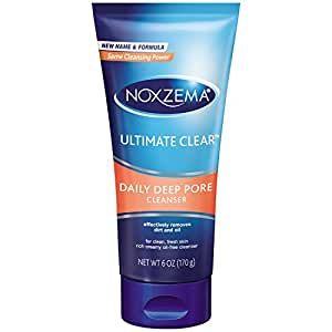 Noxzema Ultimate Clear Daily Deep Pore Cleanser 6 oz