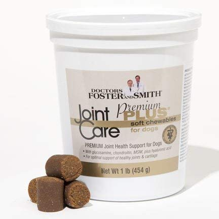 Drs. Foster & Smith Joint Care Premium Plus Soft Chews for Dogs (Best Flea Protection For Dogs)