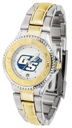 Linkswalker Mens Georgia Southern Eagles Competitor Two Tone Watch ()