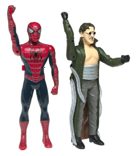 Spider-Man2: Spider-Man and Doc Ock Walkie Talkies