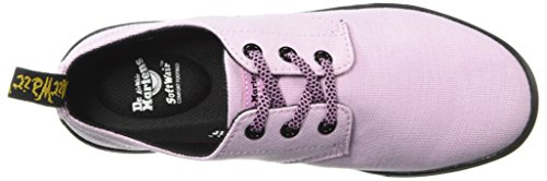 Dr. Martens Vrouwen Santanita Oxford Kaasjeskruid Roze Geweven Textiel