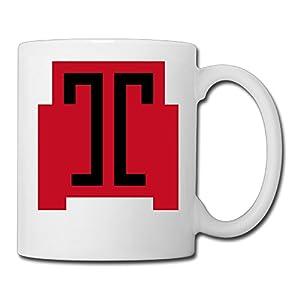 Christina Temple Owls T Logo Ceramic Coffee Mug Tea Cup White