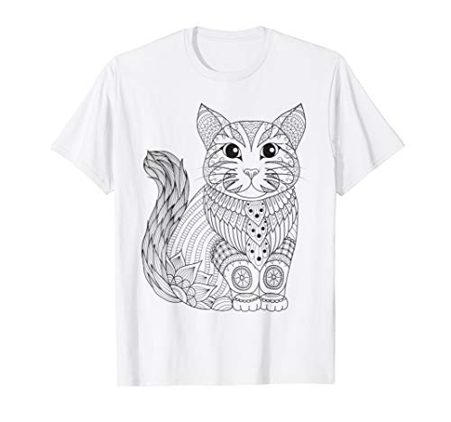 Kitty Own (Kitty Cat - Color Your Own Colorific Tees Design)