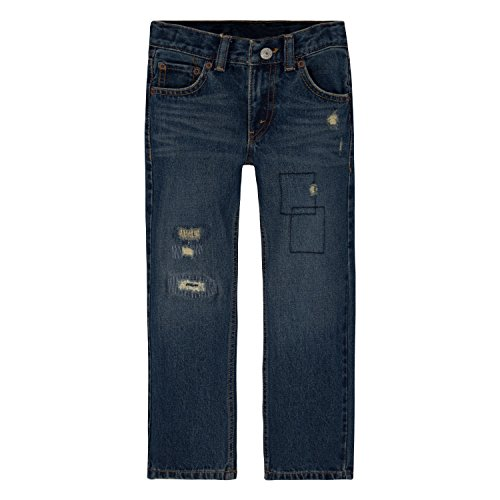 - Levi's Boys' 505 Regular Fit Jeans, Blue Asphalt, 2T