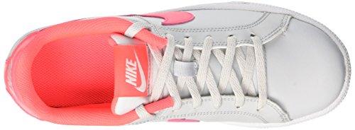 Nike Mädchen Court Royale (Gs) Tennisschuhe Elfenbein (Pure Platinum/hot Punch/white)