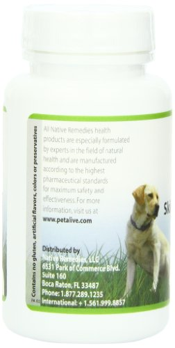 Image of PetAlive Skin and Coat Tonic for Healthy Skin (60 Caps)