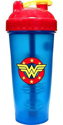 PerfectShaker Hero Series Nutrition Shaker Bottle, Wonder Woman (Wonder Women)