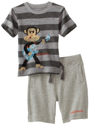 Paul Frank Baby Boys' Guitar Two Piece Short Set