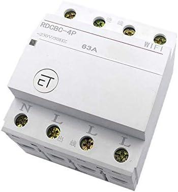 Tamkyo リモート制御RBC-4PディンレールCemig WiFiサーキットブレーカー、EWeLink音声制御による、aおよび Homeとの互換性