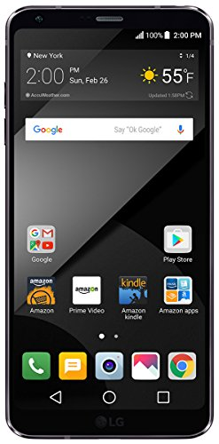 LG G6+ - 128 GB - Unlocked (AT&T/T-Mobile/Verizon) - Black - Prime Exclusive - with Lockscreen Offers & Ads by LG