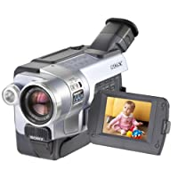 """Sony DCRTRV350 Digital8 Camcorder with 2.5"""" LCD, Memory Stick capabilities & Remote (Discontinued by Manufacturer)"""