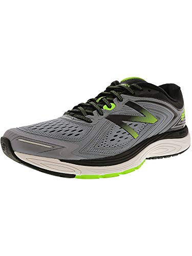 New Balance Men's M860GG8, Grey/Lime, 11.5 2E US