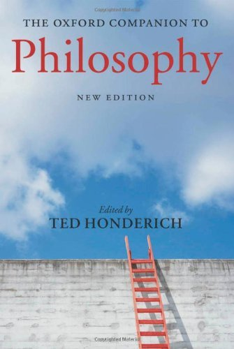 By Ted Honderich - Oxford Companion to Philosophy (New Edition): 2nd (second) Edition pdf epub