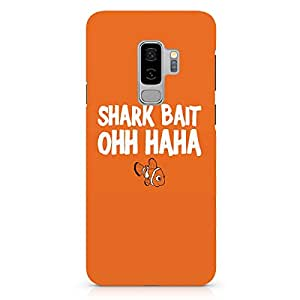 Loud Universe Shark Bait Samsung S9 Plus Case Nemo Finding Nemo Samsung S9 Plus Cover with 3d Wrap around Edges
