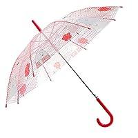 Artiron Unicorn Clear Umbrella Bubble Fashion Dome Auto Open Transparent Umbrella for Outdoor Weddings Windproof