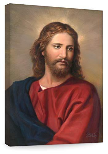 Big A Solutions Jesus Wall Decor, Replica of Oil Painting by Heinrich Hoffman. Jesus Wall Art in Different Sizes, Jesus Canvas, Jesus Posters. (20X30)