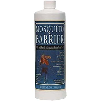 Mosquito Barrier 2001 Liquid Spray Repellent, 1-Quart – Safe for Kids and Pets
