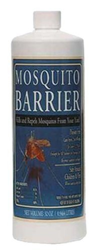 Mosquito Barrier 2001 Liquid Spray Repellent, 1-Quart - Safe for Kids and Pets]()