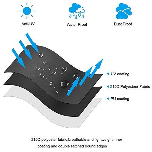 Patio Umbrella Covers With Zipper: Umbrella Covers Covers, Waterproof Patio Market Parasol