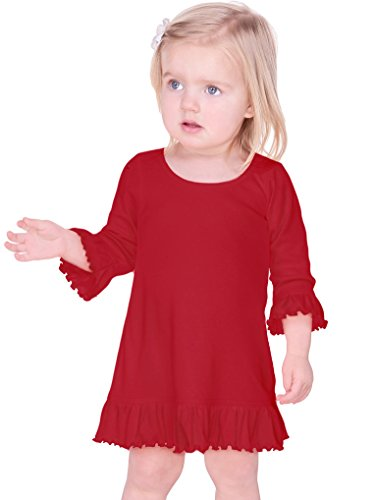 infant a line dress - 4