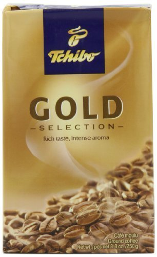 (Tchibo Gold Selection Ground Coffee, 8.8-Ounce Packages (Pack of 4) )