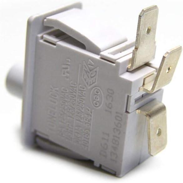 131843101 Dryer Door Switch for Electrolux, Crosley, Frigidaire, Gibson, and Kelvinator.