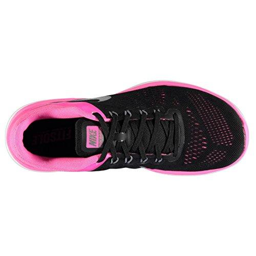 NIKE Flex 2016Chaussures de Course à Pied pour Femme Noir/gris/rose/Fitness Formateurs Sneakers