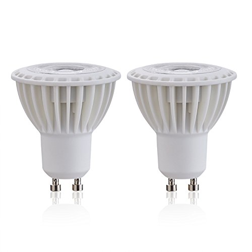 2 Pack High Power GU10 Warm White 3000K AC 120V 5W 45W Halogen Bulbs Equivalent LED Bulb 450 Lumens Spotlights Not Dimmable 38 Degree Beam Angle Lamps Lighting for Office Commercials - 35w 12 Degree Spot