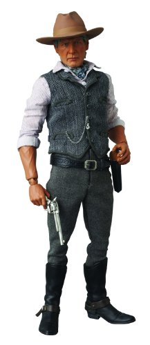 Medicom Cowboys and Aliens Colonel Woodrow Dolarhyde Real Action Heroes Figure