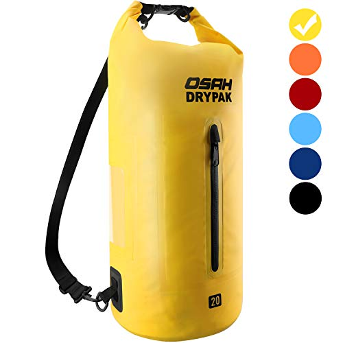 Dry Bag 5L 10L 15L 20L 30L Waterproof Bags for Swimming Kayaking Boating Camping Travel Hiking Surfing Rafting Beach…