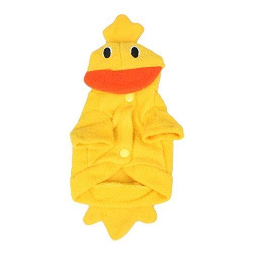 Dcolor Costume Party Xmas Duck Design Dog Clothes Pet Apparel (Xxs Dog Costumes)