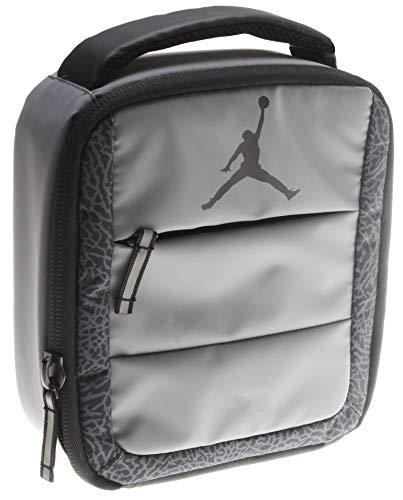 Nike Air Jordan Elephant Print Kids Square Lunch Tote (Michael Jordan Lunch Box)