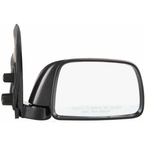 Make Auto Parts Manufacturing - TACOMA 95-00 MIRROR RH, Manual, Non-Heated, Manual Folding, Textured Black, 9 x 5 in. Housing, (00-00 w/o Off Road Package) - TO1321116