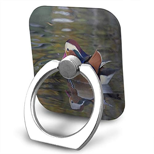Mandarin Foam (Cell Phone Finger Ring Stand Mandarin Duck 360°Rotation Suitable for Most Smartphone)