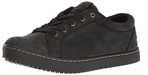 MOZO Women's Mavi Food Service Shoe, Black, 7.5 B US
