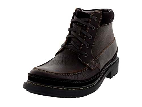 CLARKS Boot Tungsten Men's Brown Tumbled Leather xxBZpfn